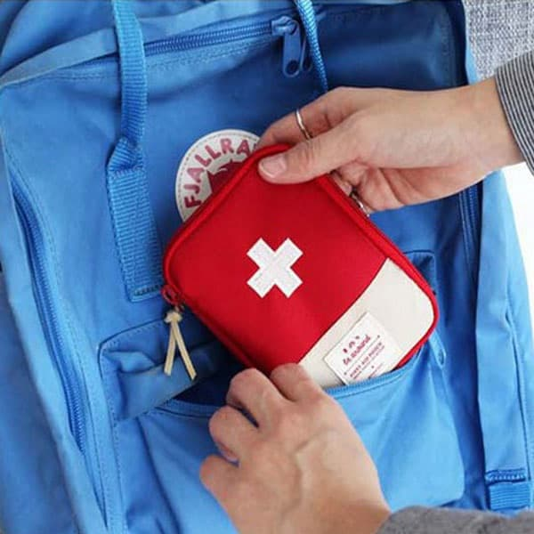 Camping Needs: First Aid Portable Storage Bag