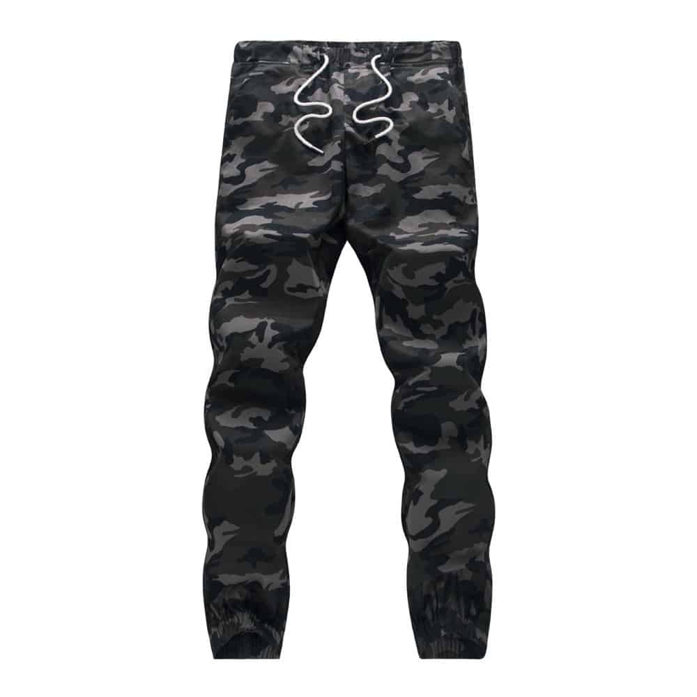 Comfortable Clothing: Camouflage Military Jogger Jeans