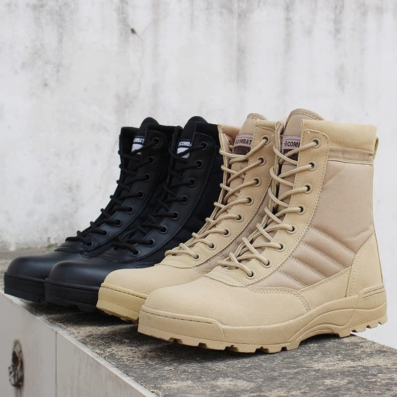 Hiking Shoes Unisex Military Style Boots